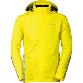 VAUDE Luminum Jas Heren, canary
